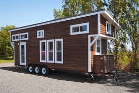 metal framed 28 u0027 tiny house on wheels by mint tiny homes