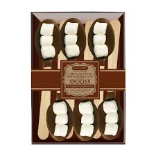 chocolate dipped spoons wholesale mini marshmallow chocolate dipped spoons by melville candy