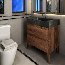 Walnut Bathroom Vanity Vng30 Waw 30 And Walnut Hardwood Bathroom Vanity Unit