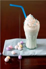 malted easter eggs robins eggs malted milkshake