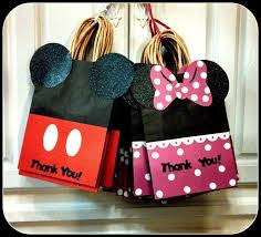 mickey mouse gift bags mickey mouse favor bags search party decorations