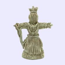 corn dolly folk grain goddess statue abby willowroot sacred source