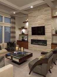 contemporary modern living room fpudining