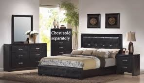 make impression to your bedroom with black bedroom sets