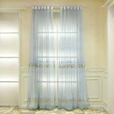 european sheer curtains pastoral style polyester jacquard