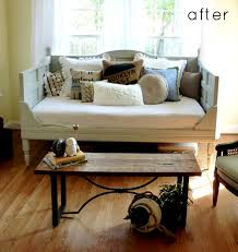 Upcycling Sofa Diy Daybed Using Old Doors Home Ideas Pinterest Daybed Wood