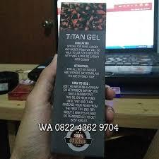 cream titan gel asli