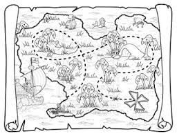 pirate maps coloring free download
