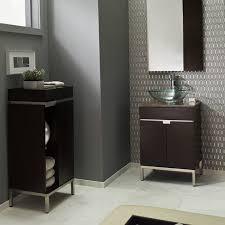 Espresso Bathroom Storage Studio 22 Inch Vanity American Standard
