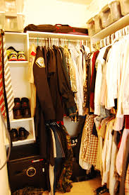 decorating white home depot closet organizer with hanging clothes