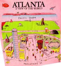 Map Of Atlanta Howard Besser U0027s T Shirt Database