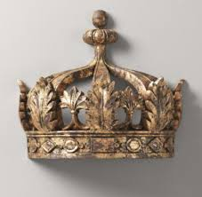 Bed Crown Canopy Gilt Demilune Canopy Bed Crown