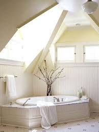bathroom elegant small attic bathroom with sloping roof also