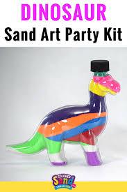 dinosaur sand art bottle colored sand art coloured sand and