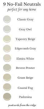 best neutral colors 9 no fail neutral paint colors postcards from the ridge