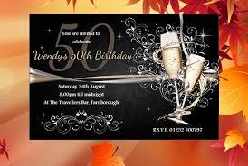 50th birthday invitation template ideas invitation templates