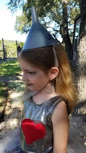 Tin Man Costume Diy Wizard Of Oz Tin Man Costume For Girls