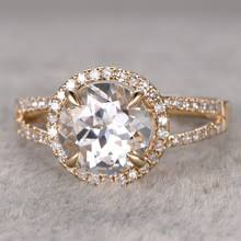 white topaz engagement ring popular white topaz engagement ring buy cheap white topaz