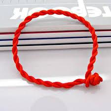 red rope bracelet images New men bracelet red rope bangle lucky bracelets on the leg for jpg