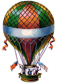 antique graphic air balloon steampunk the graphics fairy