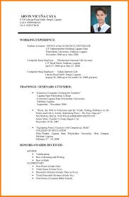 Job Resume Application Resume Performa