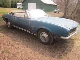 1968 camaro convertible project for sale rustingcamaros com 1967 camaro rs convertible
