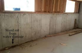 wall ideas framing basement walls against concrete enter image