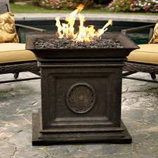 Portable Gas Firepit Bristol Portable Outdoor Gas Firepit Sam S Club
