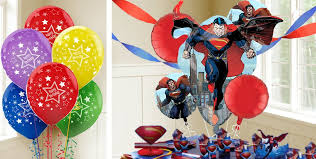 birthday balloons delivery for kids superman balloons themed birthday balloons birthday balloons