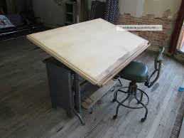 Drafting Table Stools Old Drafting Table Homesfeed