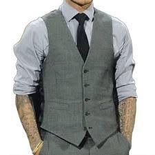 fashion men u0027s formal business casual dress vest suit slim tuxedo