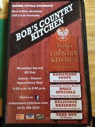 bob u0027s country kitchen menu urbanspoon zomato