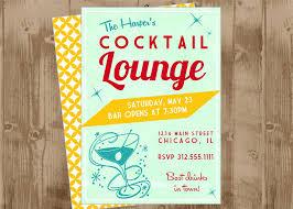retro cocktail party printable invitation the homespun hostess