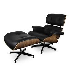 Black Chair With Ottoman Best 25 Eames Lounge Chairs Ideas On Pinterest Vitra Lounge