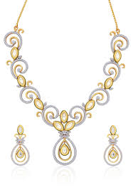 yellow gold necklace set images Peora gold necklace set jewelry pinterest gold necklaces jpg
