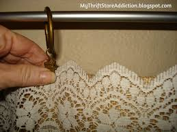 Burlap For Curtains My Thrift Store Addiction Refresh Your Home No Sew Burlap And
