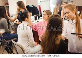 school of makeup makeup class stock images royalty free images vectors