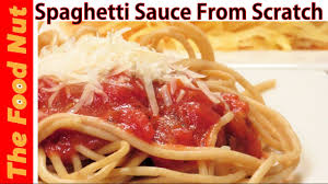 Pasta Sauce Ideas Homemade Spaghetti Sauce Recipe From Scratch How To Make Pasta