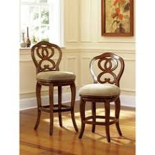 hammary hidden treasures 24 in woven backless counter hillsdale furniture alaina 24 swivel bar stool with cushion pull