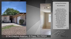 5736 creston avenue el paso tx 79924 youtube