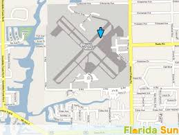 map of naples fl naples municipal airport rental car map