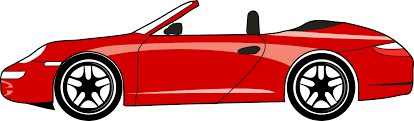 Red Porsche 911 Cabriolet Png Clipart Download Free Images In Png