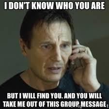Group Message Meme - group messaging meme liam messaging best of the funny meme