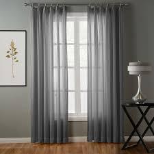 Grey Herringbone Curtains Chadmade