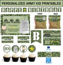 wrap party invitations army party games and ideas plus printable military party supplies