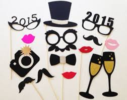 Photobooth Ideas 2016 Printable Hat Glass And Bow Photo Booth Props For New Years