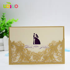Pocket Invitation Card Online Get Cheap Wholesale Pocket Invitations Aliexpress Com