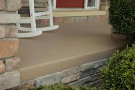 paint for patio floor improving the look of a concrete porch floor