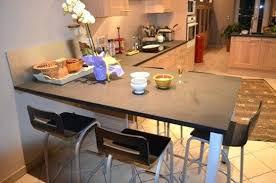 plan de table cuisine rallonge plan de travail cuisine la table en granit aussi est