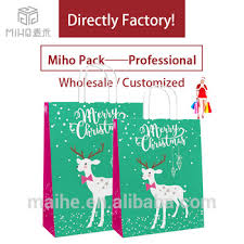 bulk christmas bags custom bulk christmas paper gift bags with handles wholesale buy
